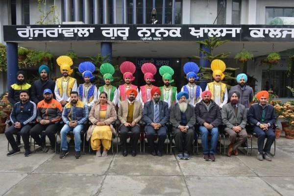 Bhangra Team selected to  represent Punjab state