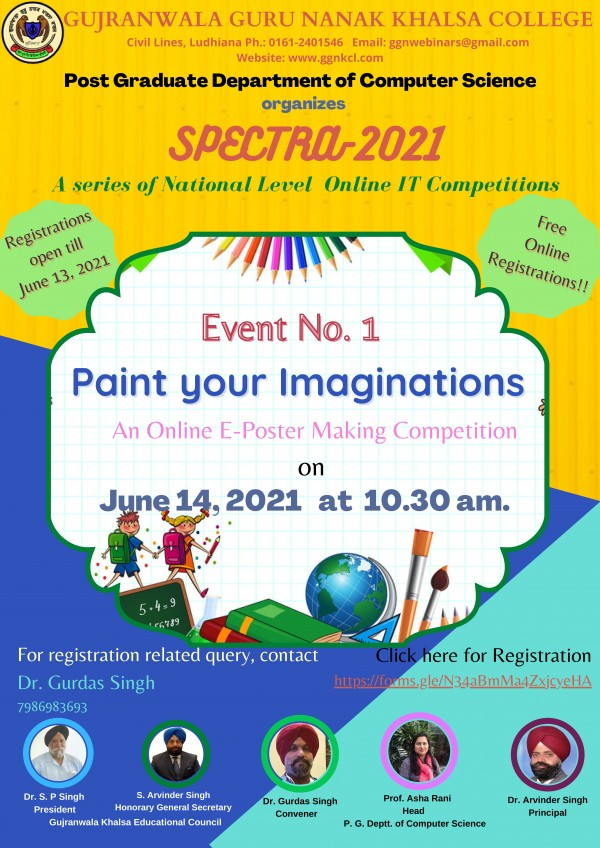 Online E-poster Making Competition