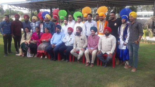 Bhangra Team stood first in Zonal Youth Festival