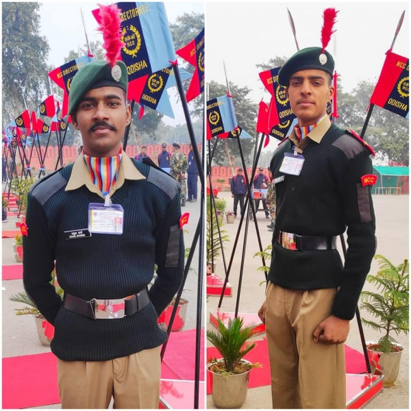 Students selected for R-Day Parade